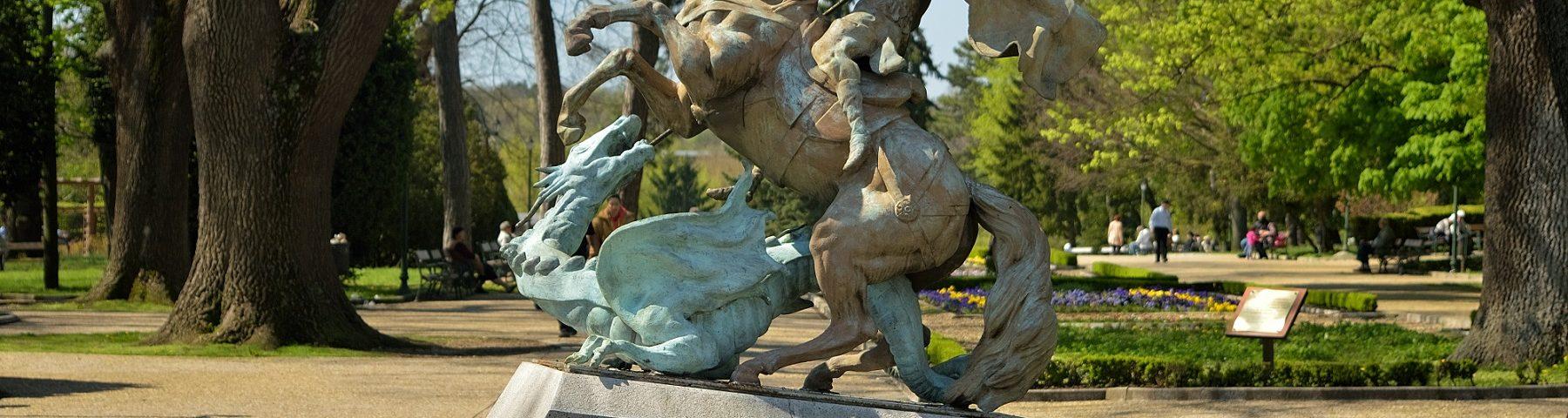 Паркът в Добрич